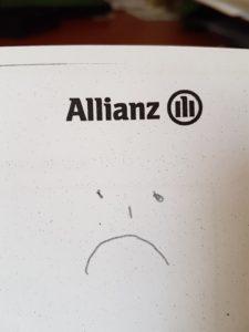 Allianz verliert vor Gericht - Stundenverrechnungssätze - Unfall