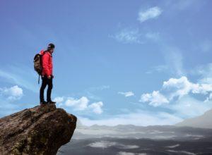 Wandern-unfall und Wanderunfall