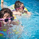 Badeunfall im Schwimmbad