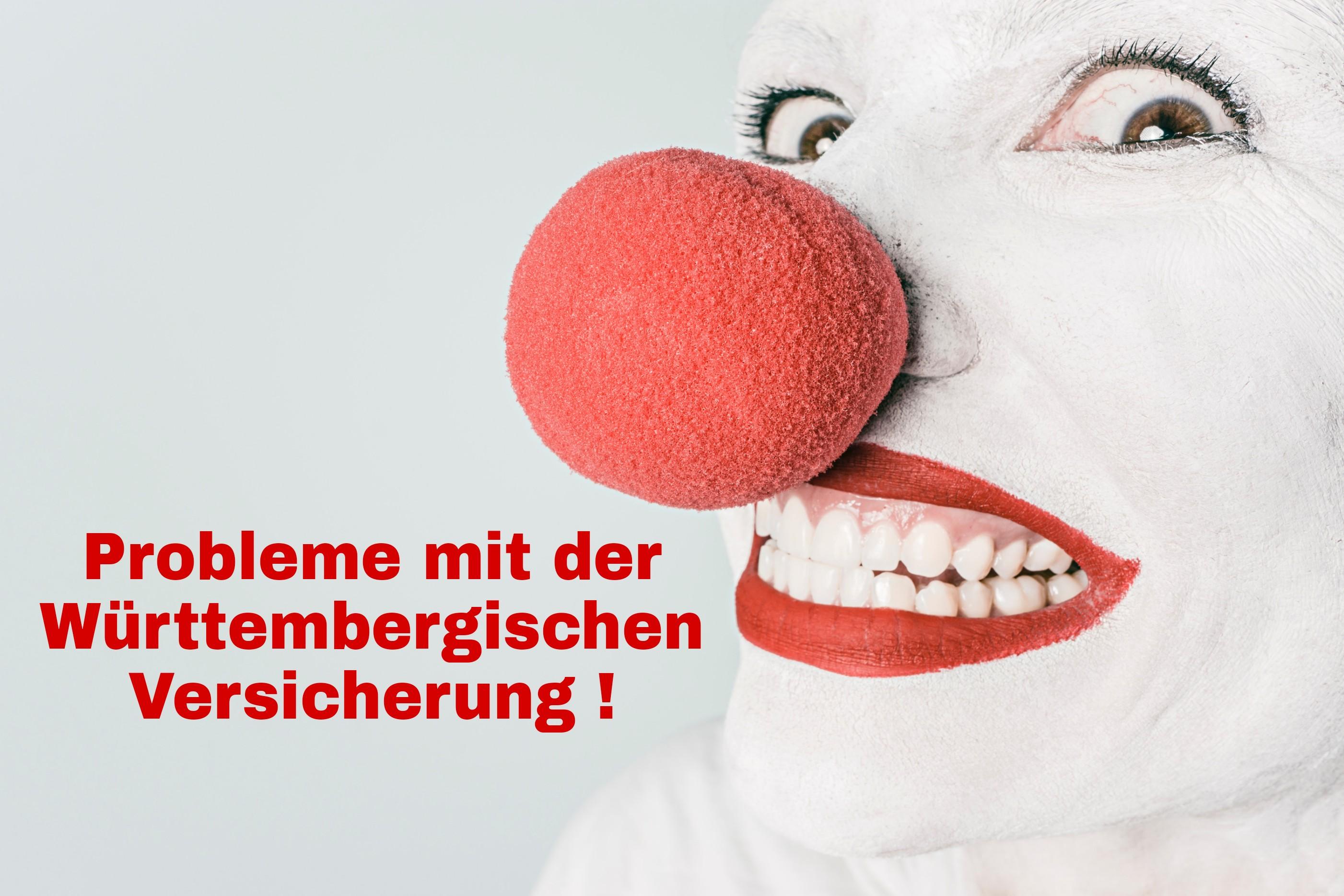 Probleme mit der Württembergischen Versicherung