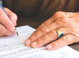 Kündigung Vertrag Unterschrift